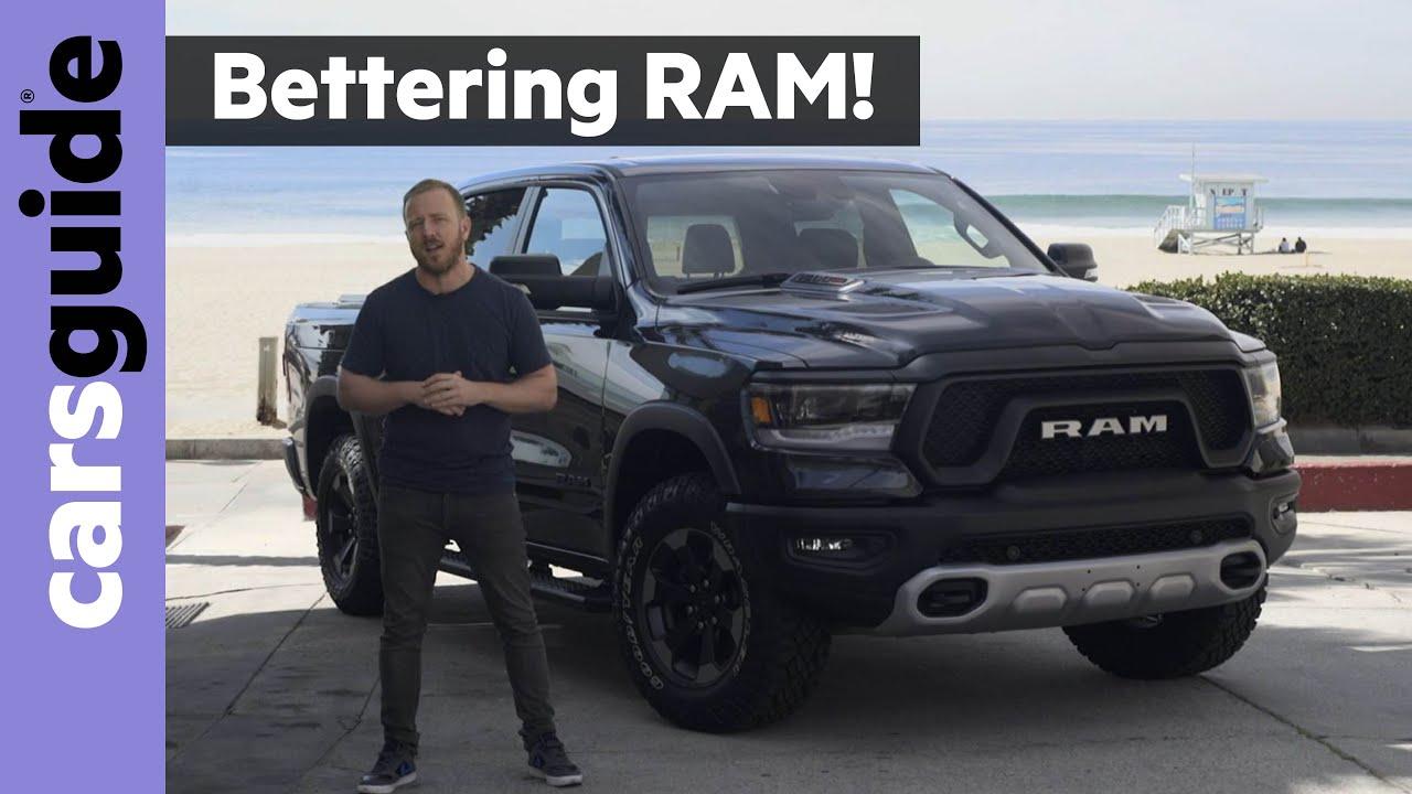 2021 Dodge Ram Truck Exterior and Interior