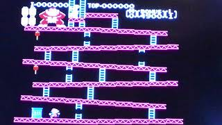 Donkey Kong (NES) - Game A