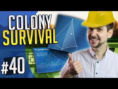 PYRAMID PLANS | Colony Survival #40