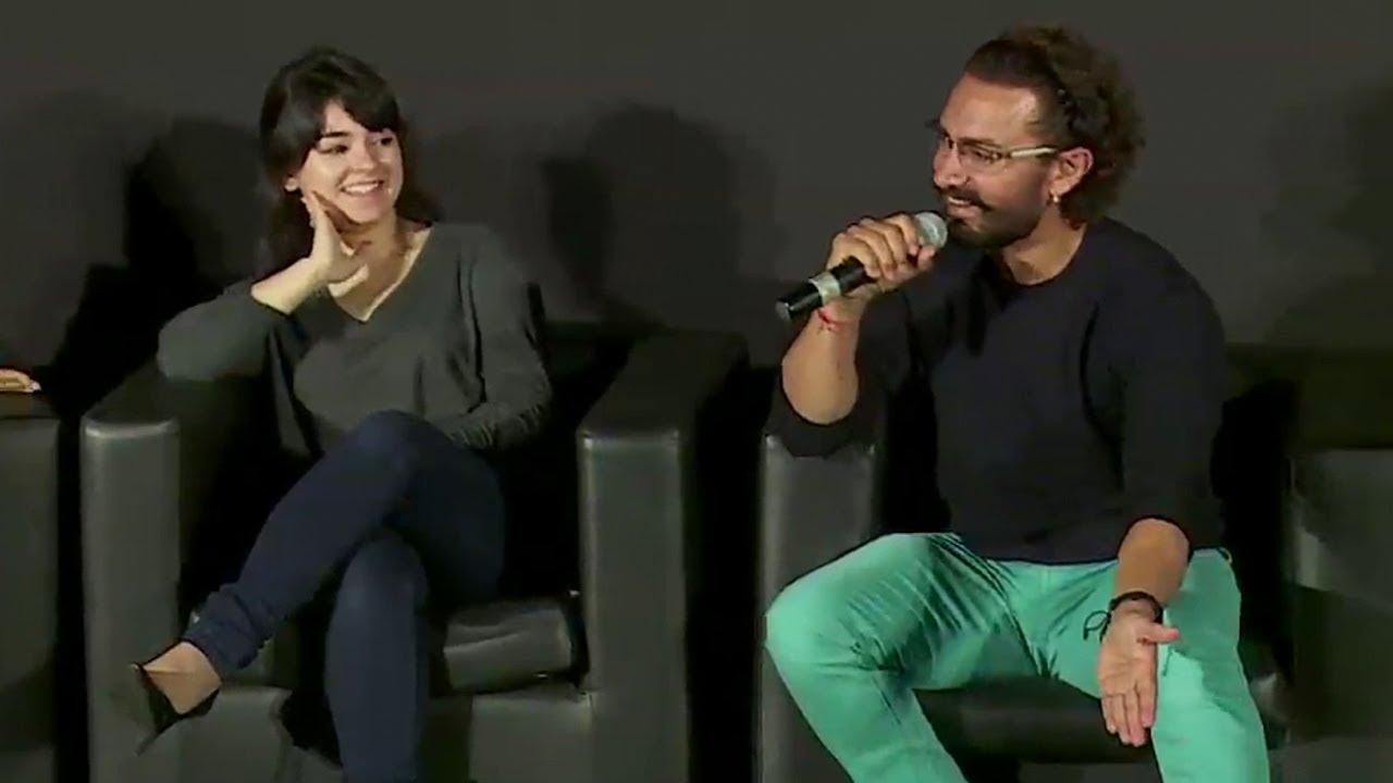Download Zaira Wasim's CUTE Reaction On Working With Aamir Khan In Dangal And Secret Superstar