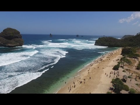 Goa Cina Beach - Malang - East Java - Indonesia
