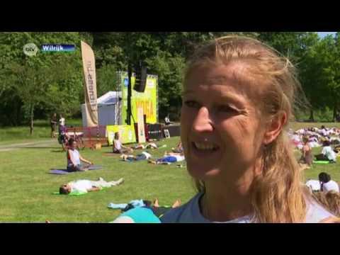 Reetu Mehta on 'Antwerp Television' (ATV) news for International Day of Yoga 2017, in Antwerp.
