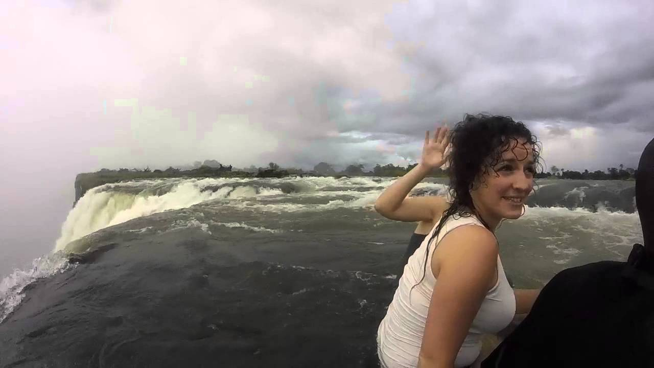 Devils Pool Victoria Falls Via Gopro Hd Watch In 720p Youtube