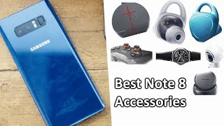 20 Best Samsung Galaxy Note 8 Accessories On Amazon