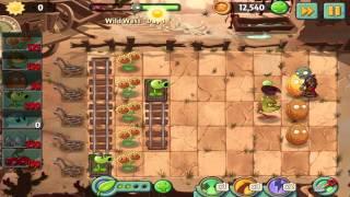 Plants vs Zombies 2: Wild West Day 1 Walkthrough