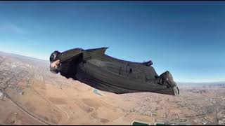 GoPro Fusion wingsuit 360 vr extended hand cam