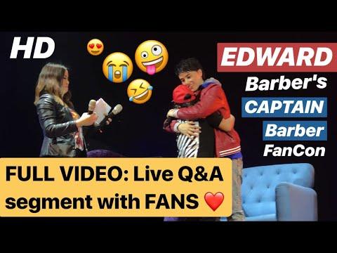 Payag ba si EDWARD ligawan si MAYMAY ng iba? FULL VIDEO: EDWARD Barber's Live Q&A with FANS