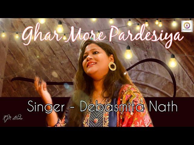Ghar More Pardesiya | Kalank | Cover | Debasmita | The Sound Studio