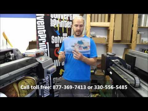 Roland Sc545ex 54 Eco Solvent Printer Cutter Doovi