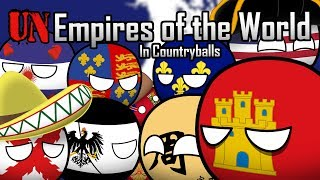 Unempires of the World in Countryballs