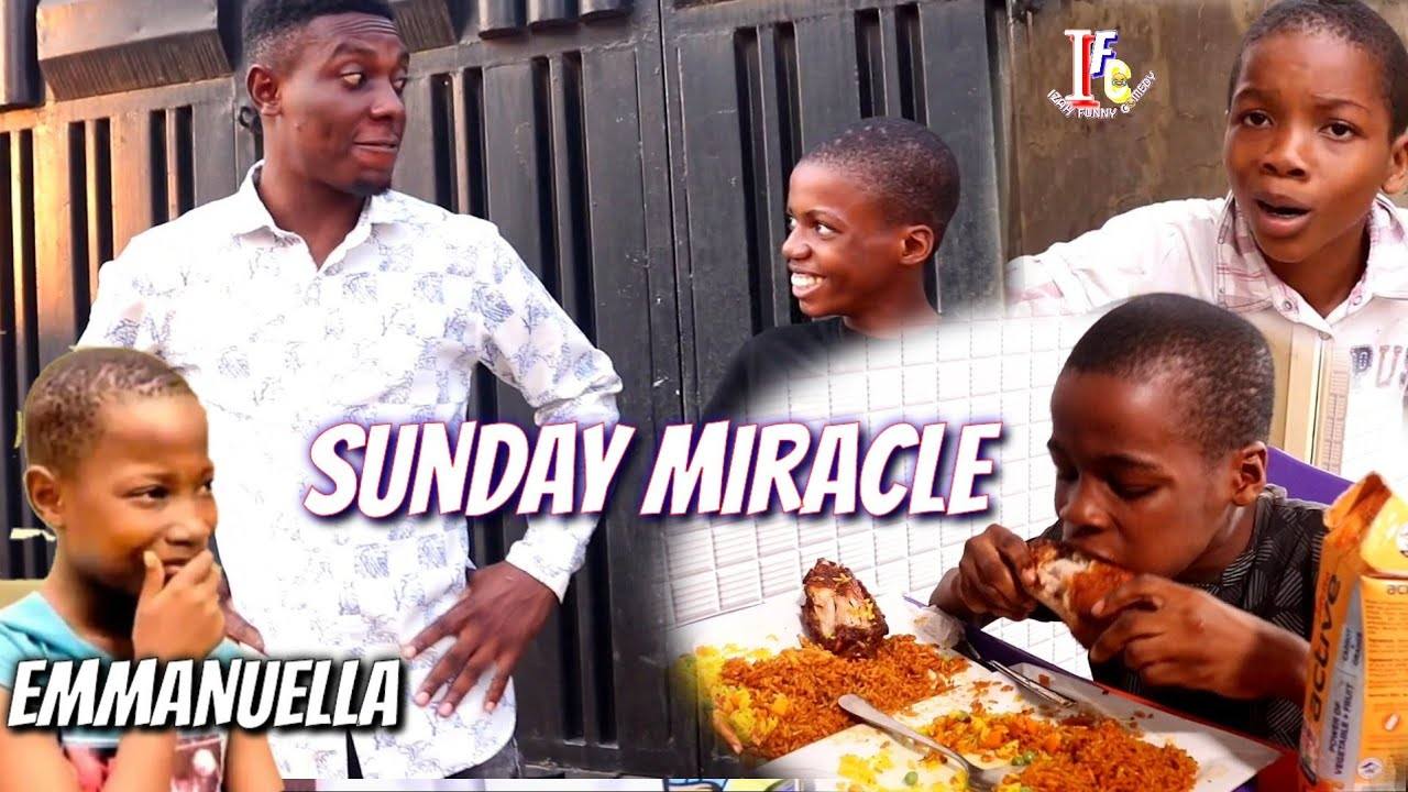 MIRACLE FOOD (Mark Angel Comedy) (Izah Funny Comedy)
