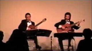 Song of India performed by the Odeum Guitar Duo, 3/7/96