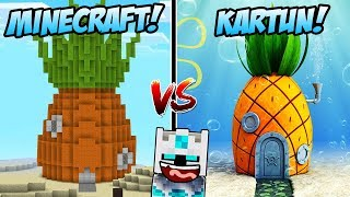 Download Video RUMAH NANAS SPONGEBOB DIDUNIA MINECRAFT VS RUMAH NANAS SPONGEBOB DI FILM! MP3 3GP MP4
