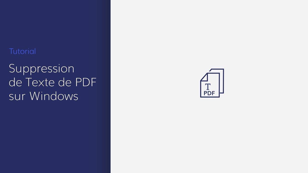 Comment Effacer Du Texte Dans Un Pdf - Exemple de Texte