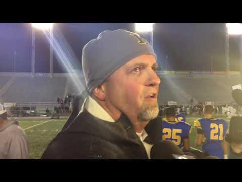 Head coach Brett Myers on Middletown's District 3 title win
