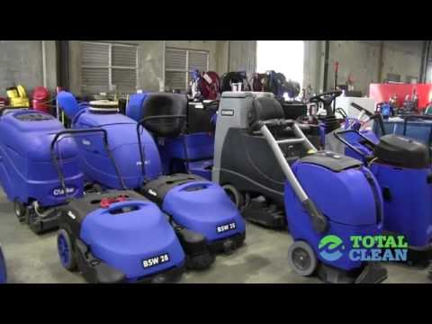 Used Industrial Cleaning Equipment in Los Angeles, San Diego, Las Vegas, Phoenix by Total Clean