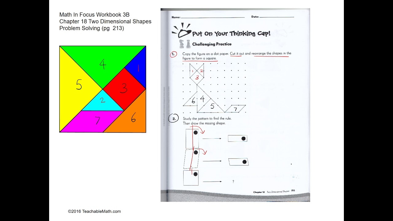 MIF Workbook 3B Solutions Chapter 18 Two Dimensional Shapes ...