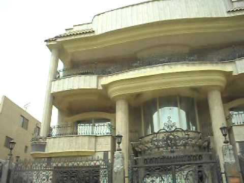Huge mansions in Cairo