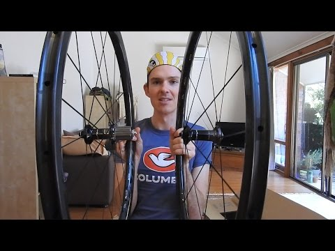 Dura Ace 9100 C40 wheelset unboxing