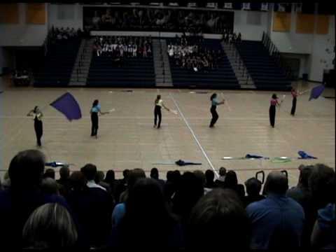Fairfield Junior High School Winterguard 1-30-2010