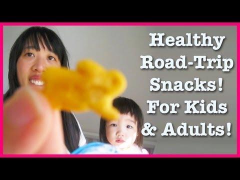 Healthy Road-Trip Snacks! Toddler  & Adult Friendly!