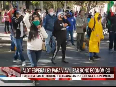 ALDT ESPERA LEY PARA VIAVILIZAR BONO ECONÓMICO