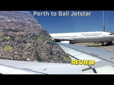 Perth To Bali with Jetstar Air bus 320