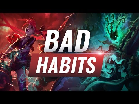 Low Elo Bad Habits: Playing from Behind - League of Legends Season 9 Tips