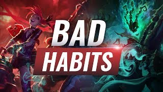 3 Bad Habits That Will Stop You From Climbing Episode 3 - League of Legends Season 9 Tips