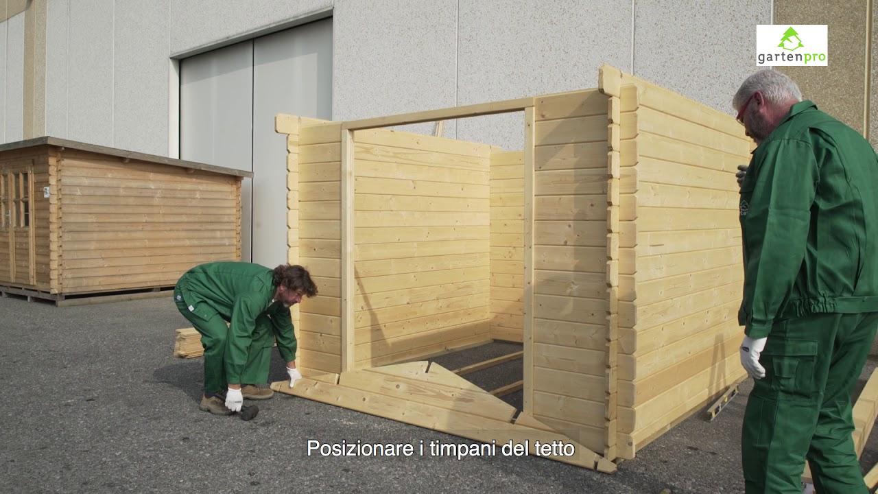 video montaggio casetta in legno da giardino youtube