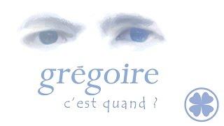 """Grégoire - """"C'est quand ?"""" [Lyrics video officielle]"""