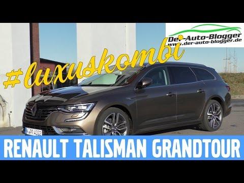 Renault Talisman Grandtour ENERGY dCi 160 EDC - Test, Review und Fahrbericht