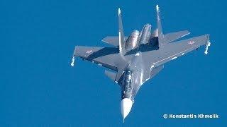 Су-30СМ МАКС 2013 солнечно Су-30 Su-30SM MAKS 2013 sunny Su-30