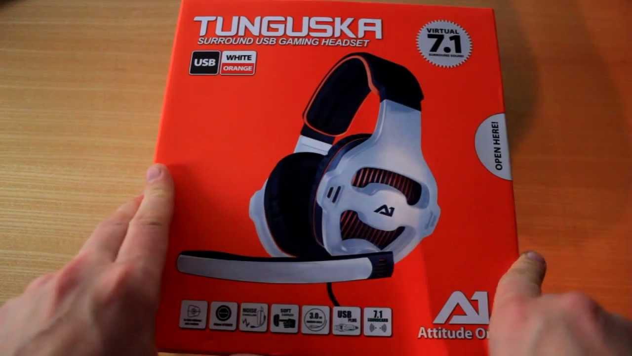 ATTITUDE ONE TUNGUSKA 7.1 HEADSET WINDOWS XP DRIVER