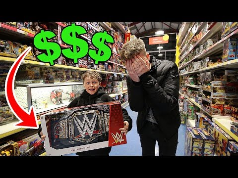 BUY ANYTHING YOU WANT for 24 HOURS for LITTLE BROTHER!! ($1000)