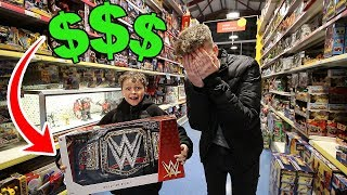 """BUY ANYTHING YOU WANT"" for 24 HOURS for LITTLE BROTHER!! ($1000)"
