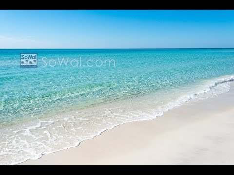 The Gulf of Mexico Surfline in South Walton County, Florida