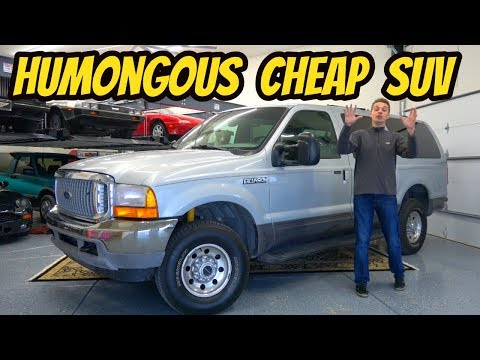 I Bought The Greatest SUV Ever Made: Ford Excursion 7.3 Powerstroke 4x4