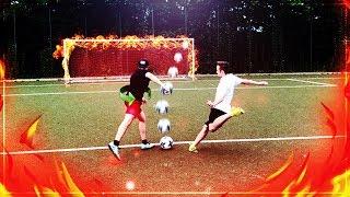 DIE ULTIMATIVE FUßBALL CHALLENGE VS MEINEN BRUDER ⚽🔥