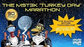 MST3K Turkey Day Marathon 2018 Promo - Jonah