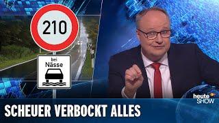 Maut, Mobilfunk, Bahn: Verkehrsminister Scheuer kriegt alles versaut