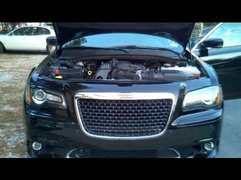 2012 Chrysler 300 Srt8 64l Hemi First Glimpse Youtube
