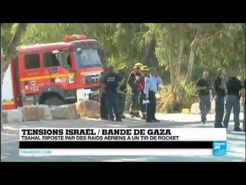 Gaza : des militants proches de l'EI tirent une roquette sur Israël, Tsahal riposte par des bombes
