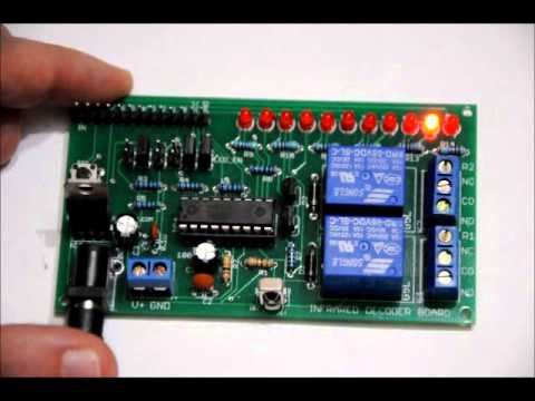 The Arduino Compatible Infrared Learning Processor Board Set Video Manual!