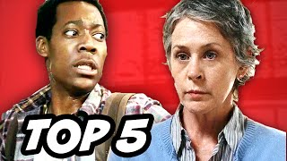 Walking Dead Season 5 Episode 14 - TOP 5 WTF