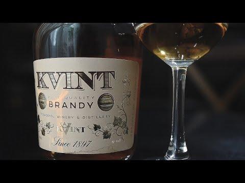 """Бренди """"Квинт"""" (Тираспольский винно-коньячный завод «KVINT») (Красное и белое) (18+)"""