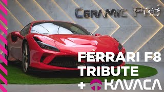Ferrari F8 Tributo Protected With Kavaca Instant-Healing PPF