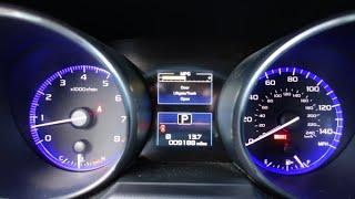 2015 Subaru Legacy 2.5i Premium Start Up