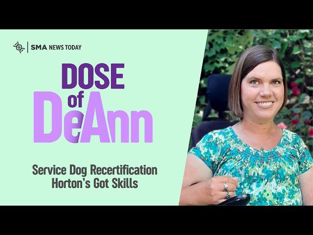 Service Dog Recertification: Horton's Got Skills!
