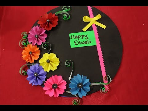 Paper diwali greeting cards are passe worldnews easy diwali card making ideas 2017 diwali greeting card making for kids handmade diwali m4hsunfo